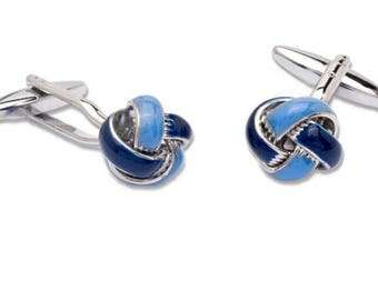 Cufflinks with Knot