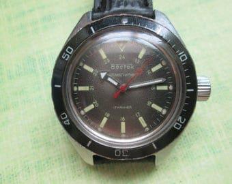 Watch Vostok Amphibian stainless housing ussr RARE