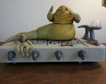 Jabba the Hutt Action Playlet - Vintage StarWars