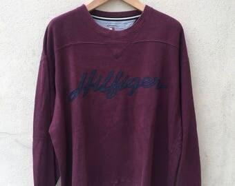 Tommy Hilfiger Spell Out Logo Sweatshirt