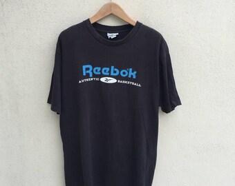 Vintage Reebok Spell Out Logo Tshirt