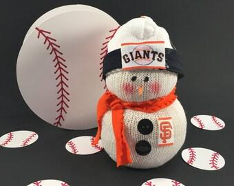 San Francisco Giants,Snowman,Giants,Gift for Giants fan,Giants fan gift,Giant decal,Giants clothing,MLB,Baseball,MLB Giants,Giants jersey