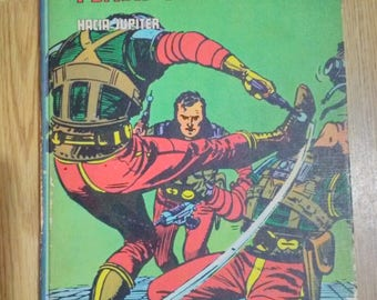 Old bound volume of Flash Gordon E. Burulan No. 8 of 1972