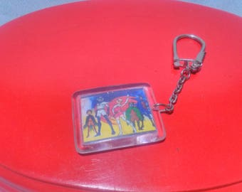 Keychain of the Battle of the Planets or G command, of the 70s.