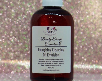 Energizing Cleansing Oil Emulsion - All Skin Types