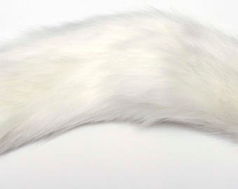 "Detachable Fox Cat Kitten Tail 15.6"" (40 cm) with or without metal Plug.  10 Tail colours Available."