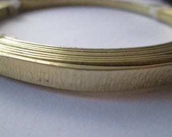 Large golden aluminum 0.6 mm wire