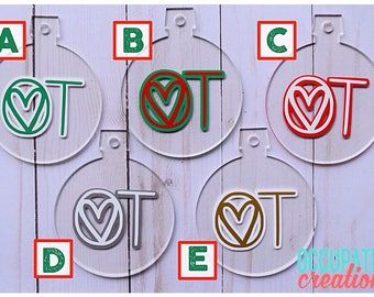 OT Holiday Ornament; Occupational Therapy Ornament