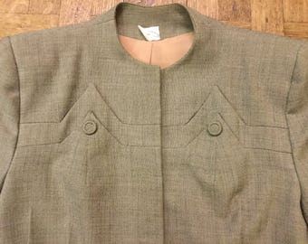 1940s Dove Grey Blazer
