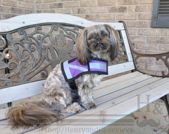 Reflective Service Dog or Therapy Dog Vest