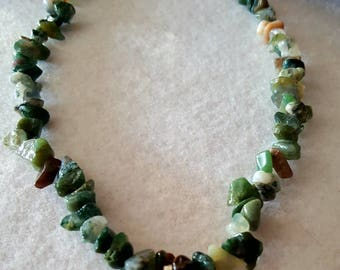 Boho Necklace for Ladies with Celtic center.