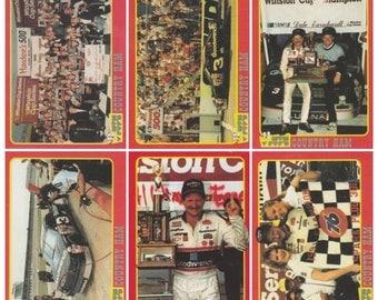 1992 Traks Mom-n-Pop's Ham Dale Earnhardt 6 Card Set