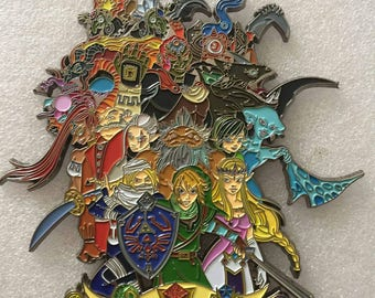 Art by EMI Giovannini 6inch oot pin