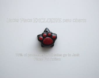 Jacks Place for Autism EXCLUSIVE Paw Charm