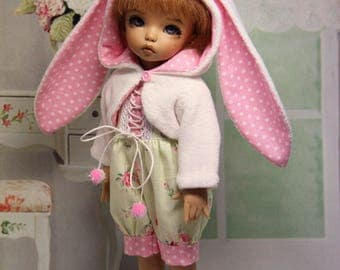 "Outfit for BJD - ""little bunny"" for LittleFee by Fairyland"
