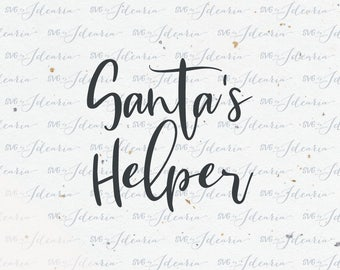 Santa's helper svg, Christmas Svg, Santa svg, svg Santa, star svg, merry and bright, believe svg, christmas svg files, files for cricut
