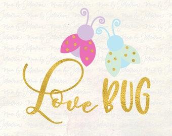 Love Bug Svg, lovebug svg, valentine svg, valentines day svg,  valentine svg file, girl valentine svg, kids valentine svg, valentine dxf