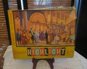 Waddingtons Highlights Interlocking Vintage  Jigsaw Puzzle - Scene from My Fair Lady