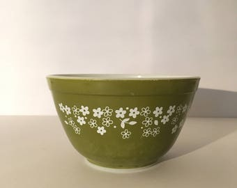 Cute Vintage Pyrex Spring Blossom Small Mixing Bowl