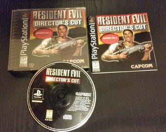 Resident Evil Director's Cut (Sony Playstation)