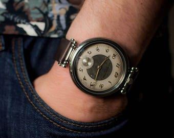 Vintage Mens watches Tissot 15 Jewels watch, original antique movemen 1900s