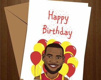 Lebron James Etsy