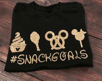 Snack Goals Tee