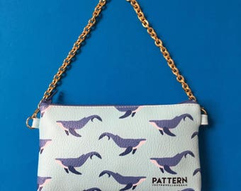 Pocket with chain thetravellovebag Love Ocean