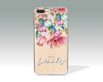 Personalized iPhone 7 Case, Customized iPhone 7 Plus Case, Custom Name iPhone 6 Case, iPhone Case with Custom Name, Personalised Gift 330