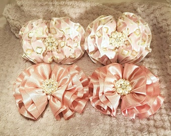 Wavy hairbow sets!