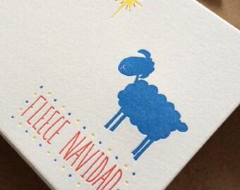 Holiday Card - Fleece Navidad - 10 card pack