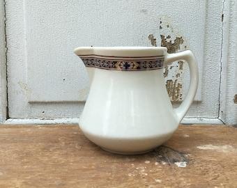 Ironstone creamer pitcher