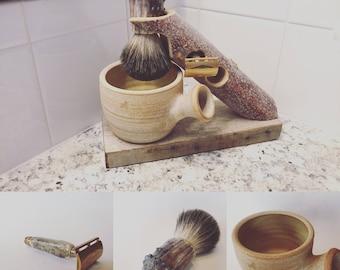 RMWS Rustic Jäger Shaving Set (Hand Made in Colorado)