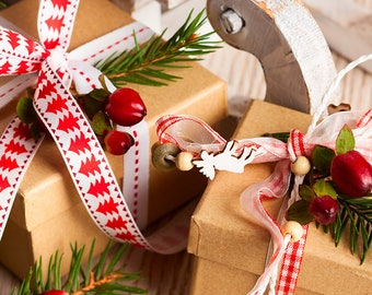 PRE ORDER - Christmas Box - project bag and yarn