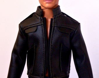 Barbie clothes - Ken doll clothes - Ken leather jacket