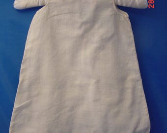 Vintage Cotton Baby Gown or Slip, Small Size.  Very Good Cond