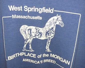 Vintage Springfield Morgan Horse screen stars L