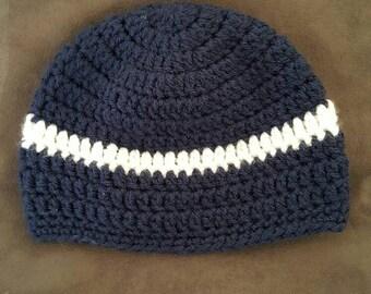 Baby boy crochet beanie