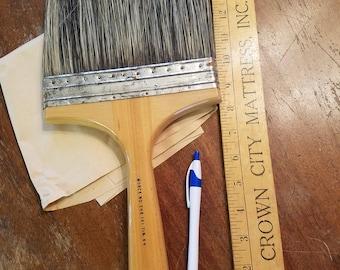 Huge vintage paint brush