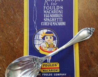 Sterling Silver Spoon