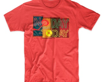 Rent T-Shirt No Day but Today Musical Theater Shirt on Black, Gray, Red or White Premium Soft Tee. Broadway Musical T-Shirt. Comfy!