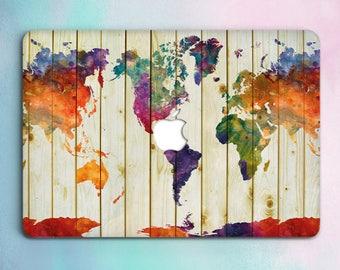 Map Mac Case 12 Macbook Pro Hard Case Macbook Pro Retina 13 15 Case World Map  Macbook Air 13 Hard Case Macbook Air 11 Case Laptop Cover 103