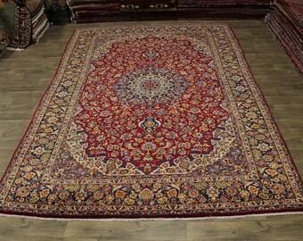 9X14 Gorgeous Rare Handmade Najafabad Persian Area Rug Oriental Carpet 9'5X13'6