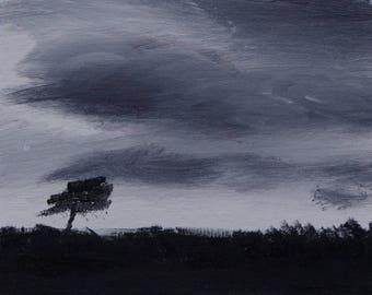 Clouds #3 art print 11x14