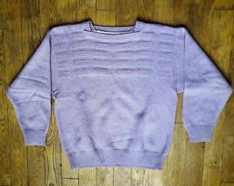The purple sweater 70 s