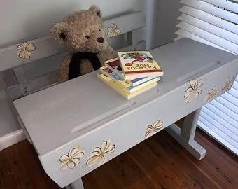 Little Pretty Primrose Original Vintage Child's Desk