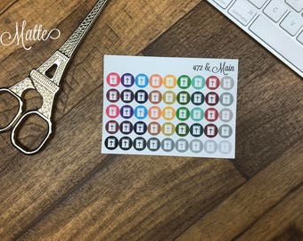 Dots | Bible Multicolor Icon Planner Stickers