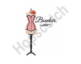 Boudoir - Machine Embroidery Design