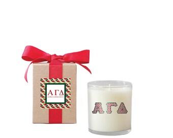 ALPHA GAMMA DELTA 8oz Candle