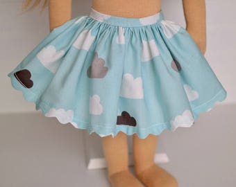 Clouds DOLL skirt